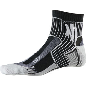 X-Socks Marathon Energy Calcetines, black/anthracite print
